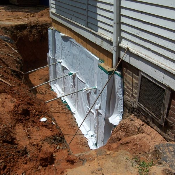 Repairing the foundation of the Fairview remodel project