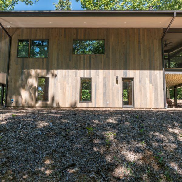Exterior of modern contemporary home